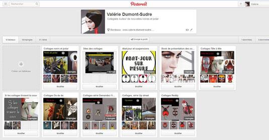 Collages Surréalisme Pinterest Valérie Dumont-Sudre