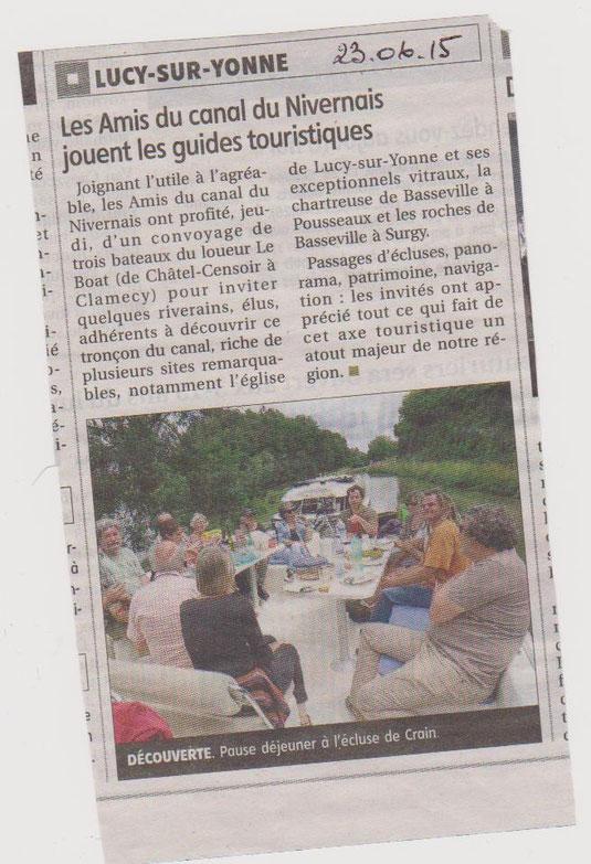 Yonne Républicaine 23/06/15