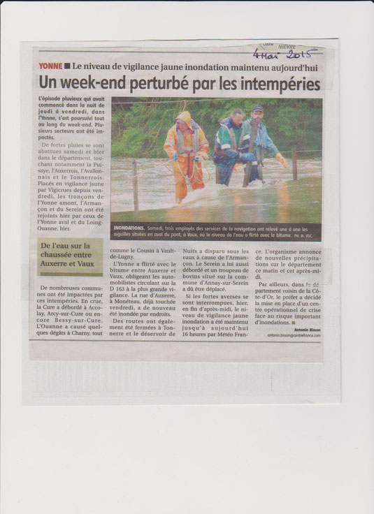 Yonne Républicaine 4/05/15