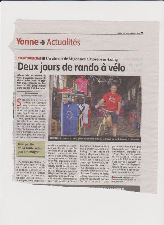 Yonne Républicaine 28/09/15
