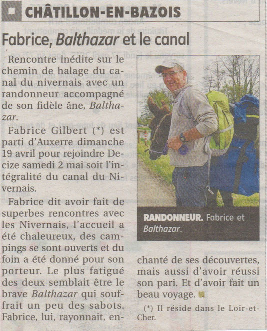 Journal du Centre, 05/05/2015