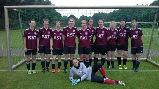 Unsere Mädchen beim Turnier in Langenhagen am 25.06.2016