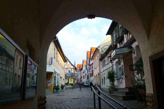 Wormser Tor mit Zugang zur Heppenheimer Altstadt
