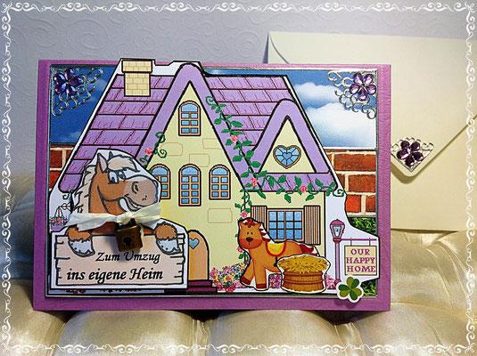 Für Pferdeliebhaberin, die ins eigene Heim zieht.