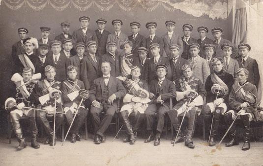 Babenberg Gänserndorf im Jahre 1924