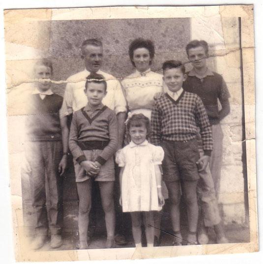 Michel, Serge, Agnès, Christian, Baptiste, Maria et Paul