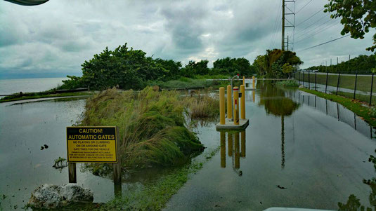 Long Key SP, FL, Einfahrt zum Campground