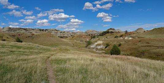 Jones Creek Trail, Theodore Roosevelt National Park, North Dakota