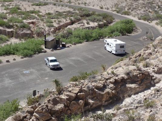 Parkplatz am Boquillas Canyon Trail