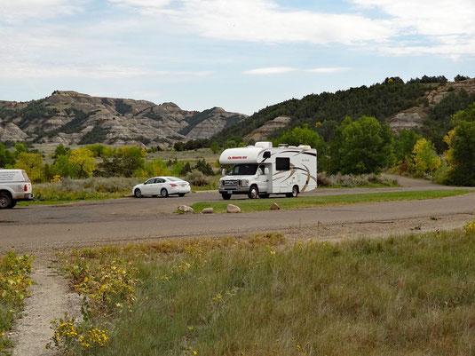 12:52 - angekommen, fünf Minuten Pause und weiter auf dem Buckhorn Trail zur Prairie Dog City