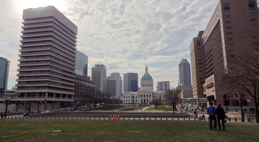 St. Louis, am Gateway Arch