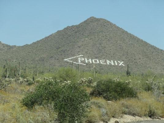 Phoenix, N Usery Pass Road
