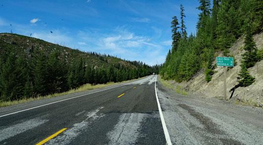 fast am Lolo Pass