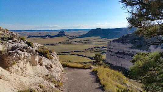 Saddle Rock Trail, Scotts Bluff National Monument, Nebraska