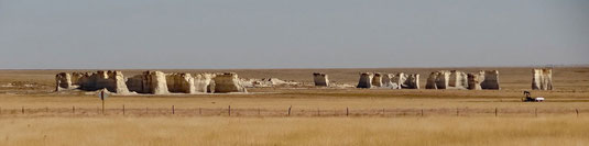 Monument Rocks National Landmark, Kansas
