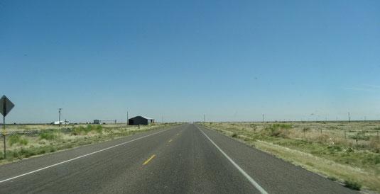 weiter auf der TX-17 Richtung Pecos