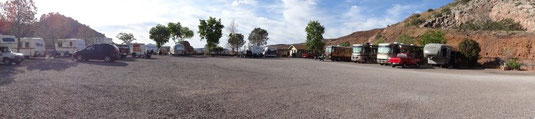 Bisbee, Queen Mine RV Park