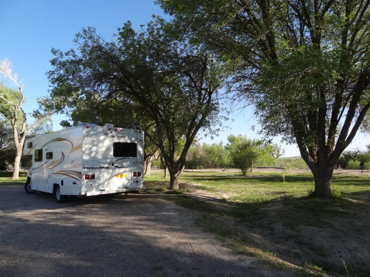Big Bend, Rio Grande Village Campground