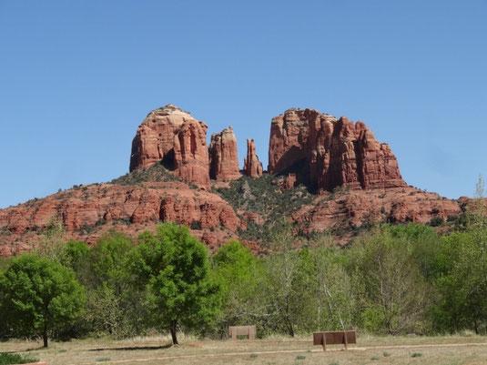 Sedona, Cathedral Rock von der anderen Seite