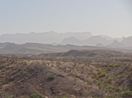 Santa Elena Canyon Road