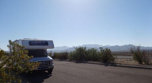 Big Bend, an der TX-118 Richtung Terlingua