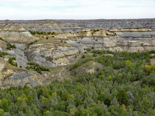 Caprock Coulee Trail, Theodore Roosevelt National Park, North Dakota
