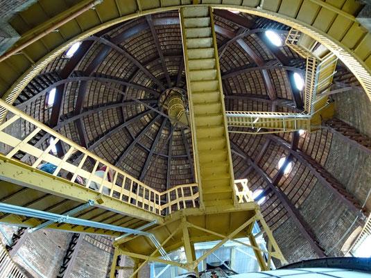 Topeka, zwischen der innneren und äußeren Kuppelschale des Kansas State Capitols