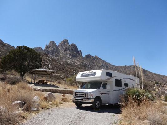 Aguirre Spring Campground