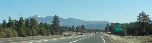 Humphrys Peak bei Flagstaff