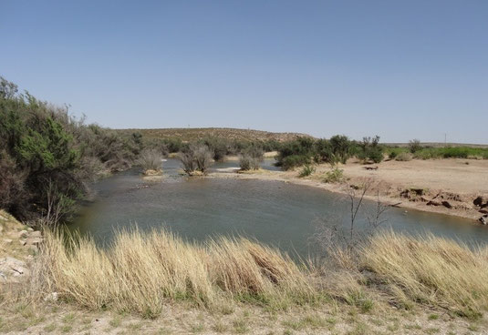 Pecos River am Brantley Lake State Park