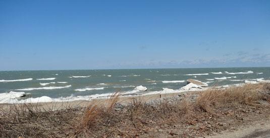 Am Lake Michigan