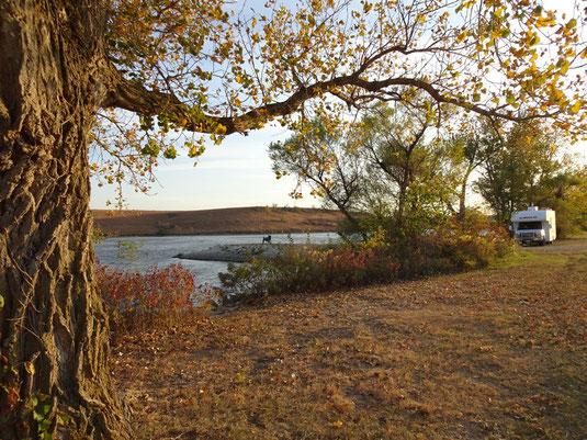 Chase State Fishing Lake Campground, Cottonwood Falls, Kansas