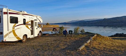 Hellgate CG, Canyon Ferry Reservoir, Montana