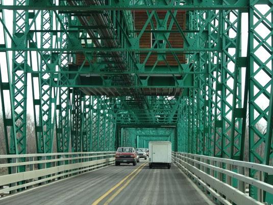 Hebebrücke in Hardin