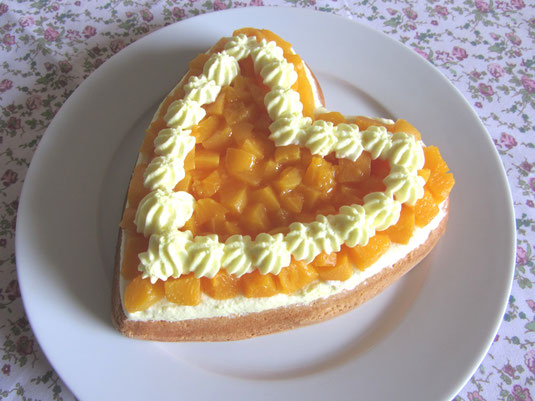Valentinsherz-Torte, Muttertagsherz-Torte