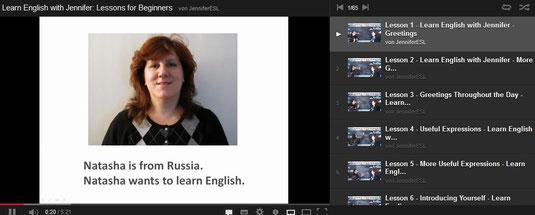youtbe englisch lernen