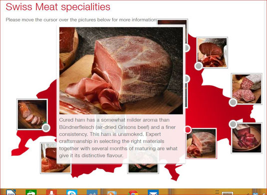swiss meat specialities