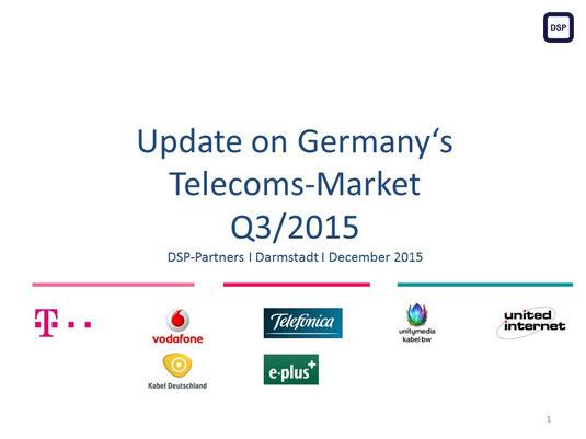 Telekommunikationsmarkt Deutschland 3. Quartal 2015
