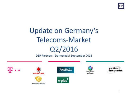 Telekommunikationsmarkt Deutschland Q2/2016