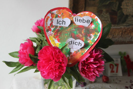 Cecilias Arrangement zum Muttertag