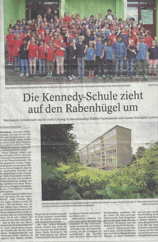 Umzug 2014 (Thüringer Allgemeine Juni '14)