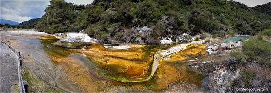 - Waimangu volcanic valley - Nouvelle-Zélande -