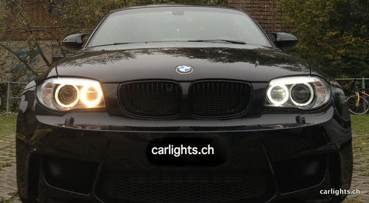 BMW 1er M E82 H8 Angel eyes 20W