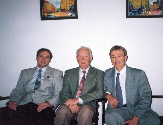 Харьковская мэрия. Фото на пямять. Игорь Свергун... , Юрий Поярков, Сергей Бершов.