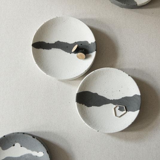 Concrete Trinket Dish The Cloud Tray By PASiNGA