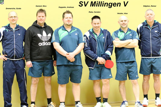 Rückrunde 19.03.2017  SV Orsoy - SV Millingen V  8:8