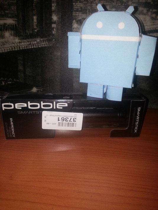 Cargador externo Pebble