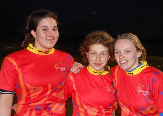 Lison, Dorine et Margaux