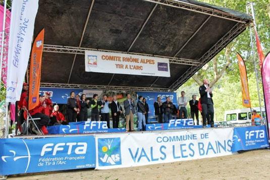 Vals les Bains, CF nature 2013