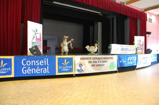 CF 3D 2015, Sully sur Loire : la scène, ouverture et résultats